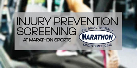 Gait Analysis & Injury Screenings with Marathon PT tickets