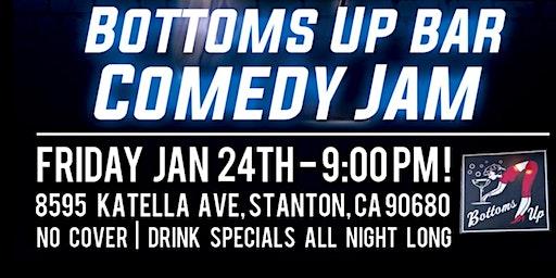 Bottoms Up Bar Comedy Jam