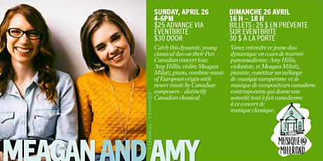 Meagan and Amy Classical Duo tickets