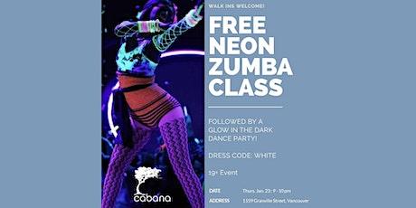 Neon Zumba Class (19+ Event) tickets