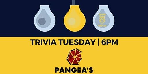 Trivia Tuesday @ Pangea's