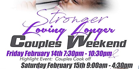 Stronger Loving Longer Couples Weekend tickets