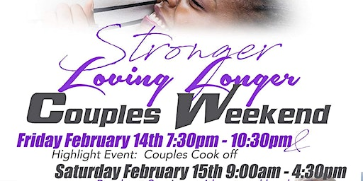 Stronger Loving Longer Couples Weekend