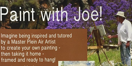 Paint with Joe! tickets
