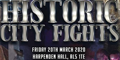 Historic City Fights - Boxing Showcase at Harpenden Hall