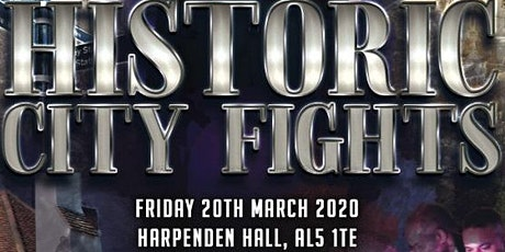 Historic City Fights - Boxing Showcase at Harpenden Hall tickets