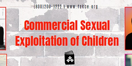 Commercial Sexual Exploitation of Children tickets
