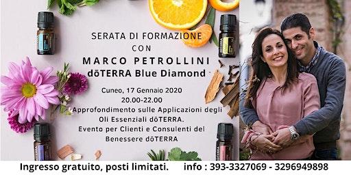 Serata di Formazione con Marco Petrollini dōTERRA Blue Diamond