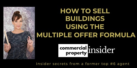 How To Sell Buildings - Using the Multiple Offer Formula! PacHeights tickets