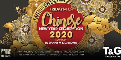 Chinese New Year Celebration 2020 with DJ Danny M and DJ Momo tickets