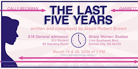 The Last Five Years presented by Smet Theatrics tickets