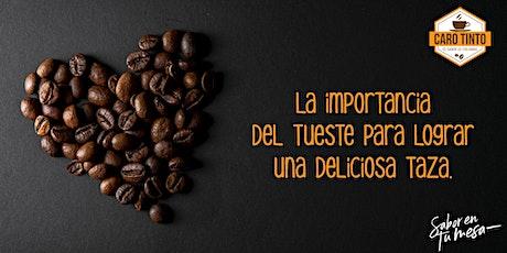 Sesión de tueste y degustación de café colombiano. entradas