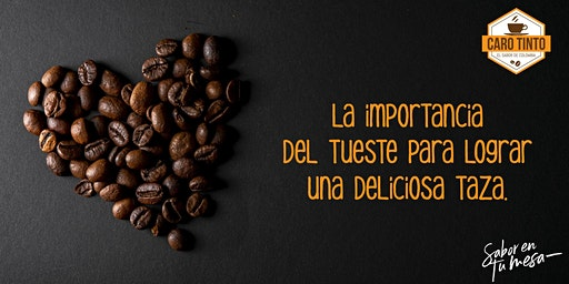 Sesión de tueste y degustación de café colombiano.