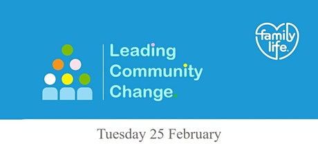 Leading Community Change -  Why, what, how and who? tickets