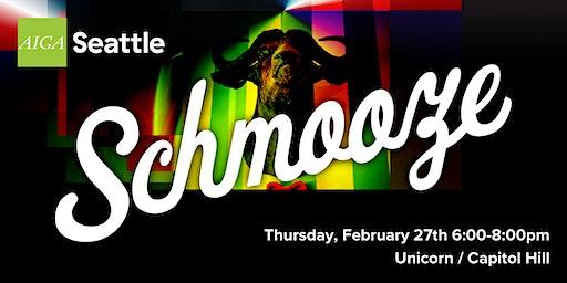 AIGA Seattle Schmooze: February 2020