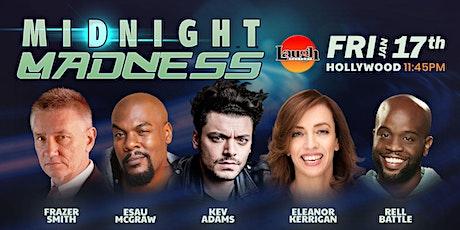 Rell Battle, Eleanor Kerrigan, Esau McGraw - Midnight Madness tickets