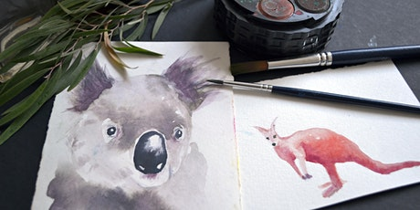Painting Aussie Wildlife Bushfire Fundraising tickets