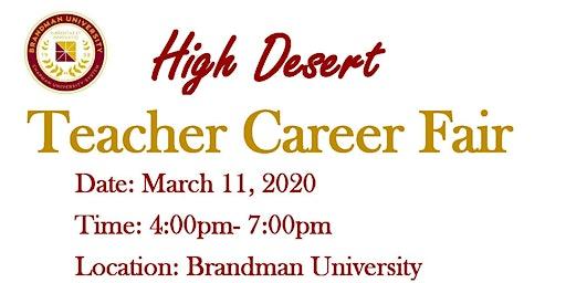 Teacher Career Fair