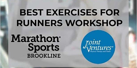 Best Exercises for Runners Workshop with Joint Ventures tickets