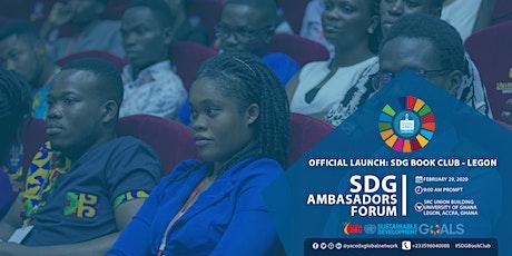 SDG AMBASSADORS FORUM 2020 tickets