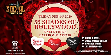 50 Shades of Bollywood -Valentine's Ballroom Affai tickets