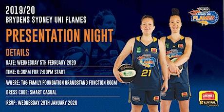 2019/20 Sydney Flames End of Season Dinner tickets
