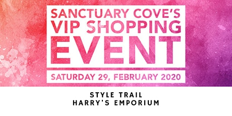 Sanctuary Cove VIP Shopping Event: Harry's Emporium tickets