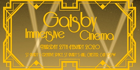 The Great Gatsby's Immersive Cinema Experience tickets