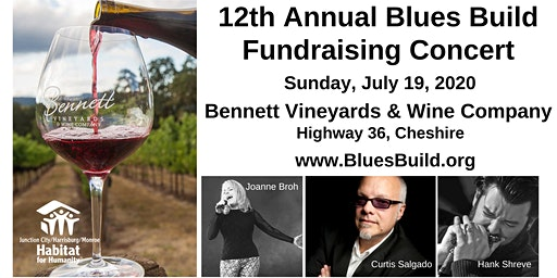 12th Annual Blues Build Fundraising Concert