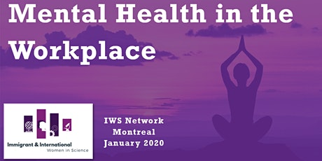Mental Health in the Workplace - Montreal, QC billets