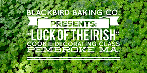 St.Patricks Themed Cookie Decorating Class