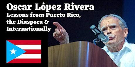 Oscar López Rivera at La Peña Cultural Center tickets