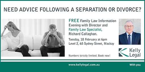Need Advice Following a Separation or Divorce?