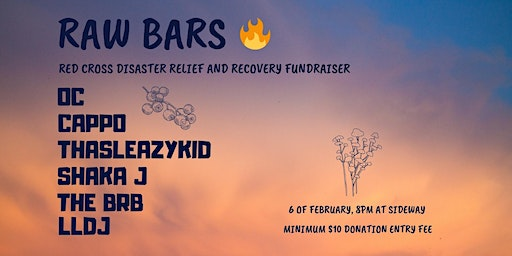 Raw Bars (Disaster Relief Fundraiser)
