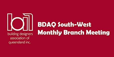 BDAQ SW Branch Meeting - January 2020 tickets