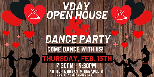 Valentine's Day Open House  & DANCE PARTY!