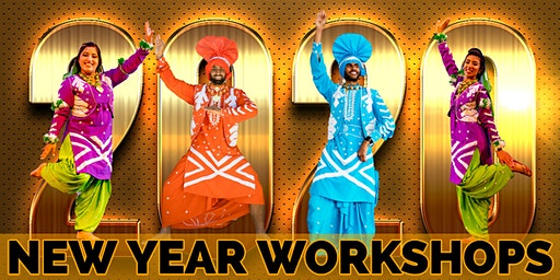 2020 Dublin Bhangra Workshop