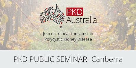 Canberra PKD Patient Seminar tickets