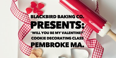 Valentine's Themed Cookie Decorating Class