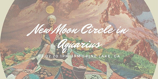 New Moon Circle in Aquarius