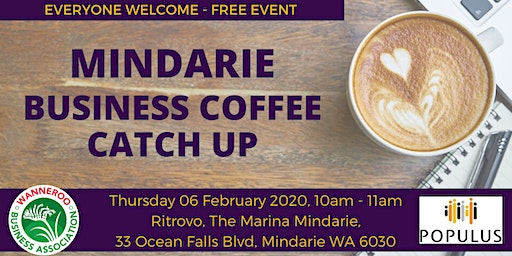 Free Business Networking Coffee Catch Up
