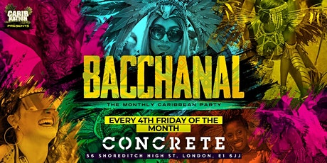 Bacchanal - The Monthly Caribbean Party! tickets