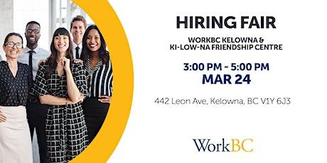 Kelowna WorkBC Hiring Fair tickets