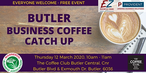 Free Business Networking Coffee Catch Up - Butler
