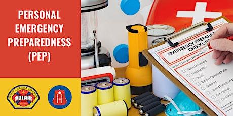 FREE Personal Emergency Preparedness (PEP) Class | Saratoga tickets