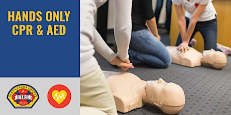 FREE Hands Only CPR & AED Class | Los Gatos | 1.5 hrs tickets