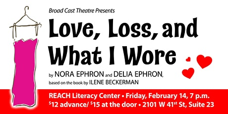 Love, Loss and What I Wore @ REACH Literacy tickets