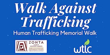 Walk Against Trafficking tickets
