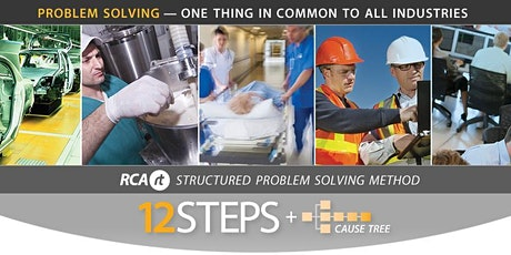 TAS - Root Cause Analysis (RCA) 12 Steps + Cause Tree | 2 day | RCARt tickets