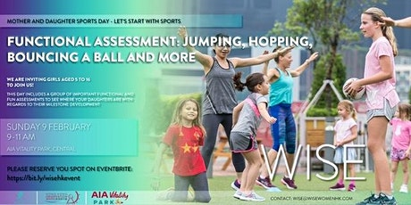 WISE Start With Sports: Mother and Daughters Functional Assessment tickets